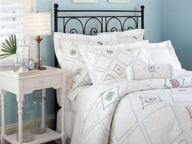 地中海地中海风格浪漫卧室床架设计案例展示
