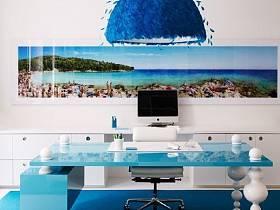 客厅白色家具设计案例