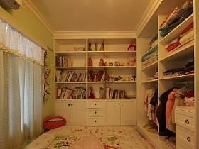 衣柜书架装修图