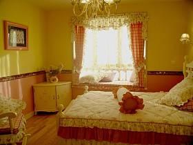 田园温馨卧室设计案例