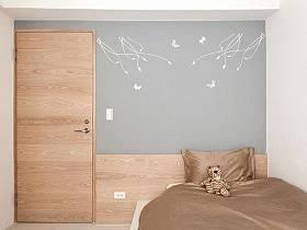 床架壁纸设计方案
