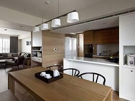 厨房书房吧台餐桌设计图