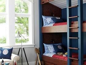 美式儿童房装修图