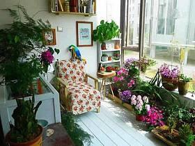 自然阳台沙发布艺沙发设计方案
