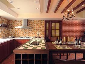 餐厅吧台效果图