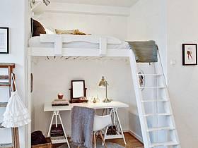 卧室床架装修案例
