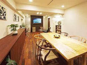 浪漫植物餐桌椅设计案例展示
