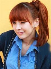 最新韩式发型设计图片 扎发烫发任你选[4P]