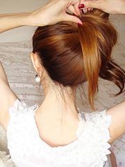 简单好看标韩式发型扎法图解[5P]