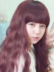 小女生最爱的韩式长发蛋卷头发型图片[4P]