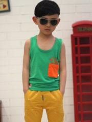 阳光帅气又可爱的小男孩发型图片[5P]