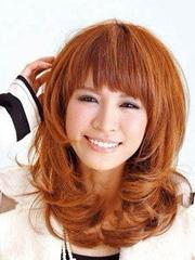 甜美咖啡色头发染发颜色图片[5P]