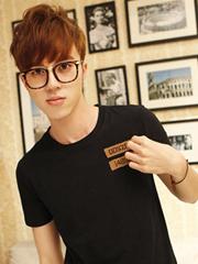 2014流行染发颜色 棕色酒红色头发更尽男生帅气[6P]