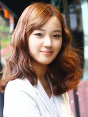 韩式蛋卷头发型图片 长中短款款甜美[10P]