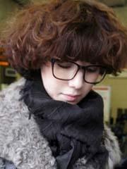 荷叶头短发时尚简单惹人爱[5P]