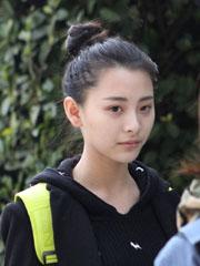 """2014上戏艺考惊现""""小张柏芝""""无刘海丸子头清爽有自信[7P]"""