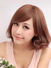 最新韩国蛋卷头发型图片[5P]