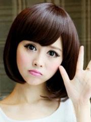 女生蘑菇头短发适合什么脸型[5P]