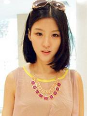 女生甜美齐肩短发发型发型图片[6P]