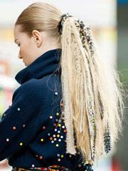 马尾辫发型走红2014巴黎时装周[7P]