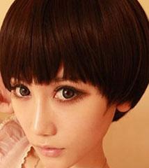 最新女生西瓜头发型图片 萌萌的帅[5P]