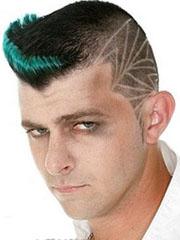 刀疤头怎么弄 男生另类刀疤头发型设计图片[9P]