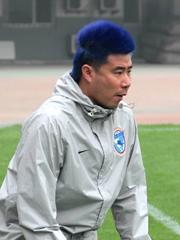 董芳卓杀马特发型图片来袭 蓝色头发潮到爆[11P]
