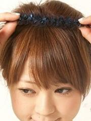 清新甜美的韓式花苞頭扎法圖解[4P]