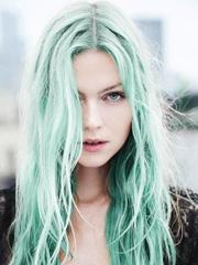 绿色染发怎么染好看[12P]
