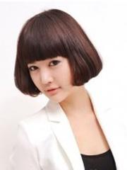 蘑菇头女生发型设计图片[5P]
