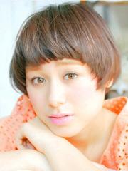 女生短发波波头适合什么脸型[8P]