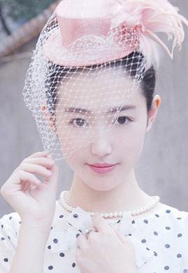 流行好看的无刘海发型扎法[6P]