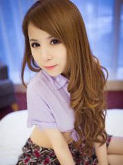 中长发气质美女图片 或清纯或性感[5P]