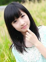 清纯女生最爱的中长直发发型图片[4P]
