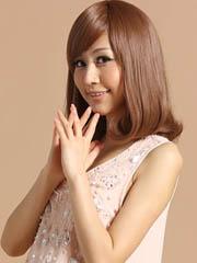 超好看的长发梨花头发型图片分享[5P]