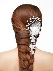 新娘发型看过去!超漂亮鱼尾编发教程图解