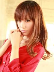 超有爱的女生齐刘海发型图片[5P]