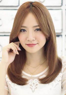 女生中分发型适合什么脸型[9P]