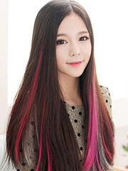 最美渐变色头发图片 挑染桃红色渐变抢眼[9P]