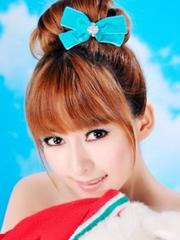 蓬松可愛的韓式丸子頭扎法[5P]