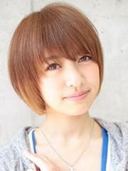 女生个性锅盖头短发发型图片[5P]