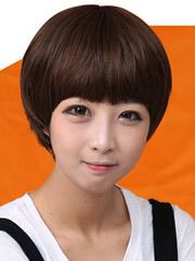 小清新女生短发蘑菇头图片[5P]