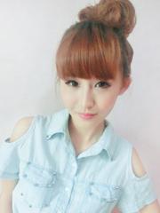 女发展脸变瓜子脸发型设计[4P]
