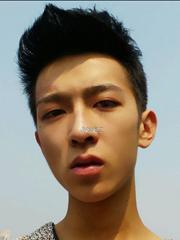 帅哥刘闵仁莫西干式飞机头发型图片[9P]