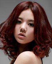 女生圆脸弄甚么发型最好看[9P]