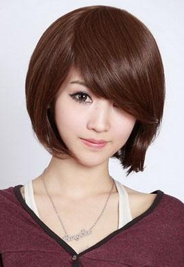 圆脸女生适合的发型图片大全[9P]