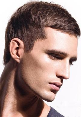各种男士帅气平头发型图片 利落有男人味[9P]