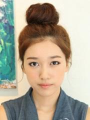韓式瘦臉丸子頭扎法圖解 減齡效果棒[22P]