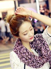 好看的韓式蓬松丸子頭圖片大全[28P]