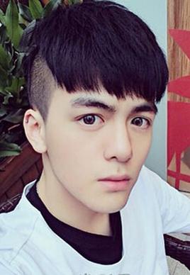男生倒三角脸型发型设计图片[4P]